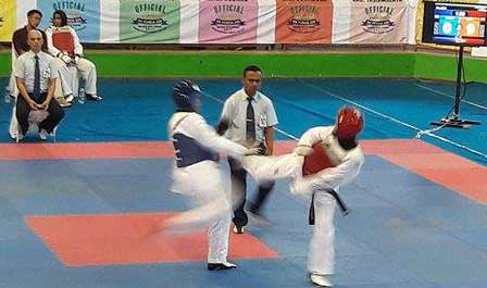 taekwondoin kota cirebon tampil sempurna di bk porda