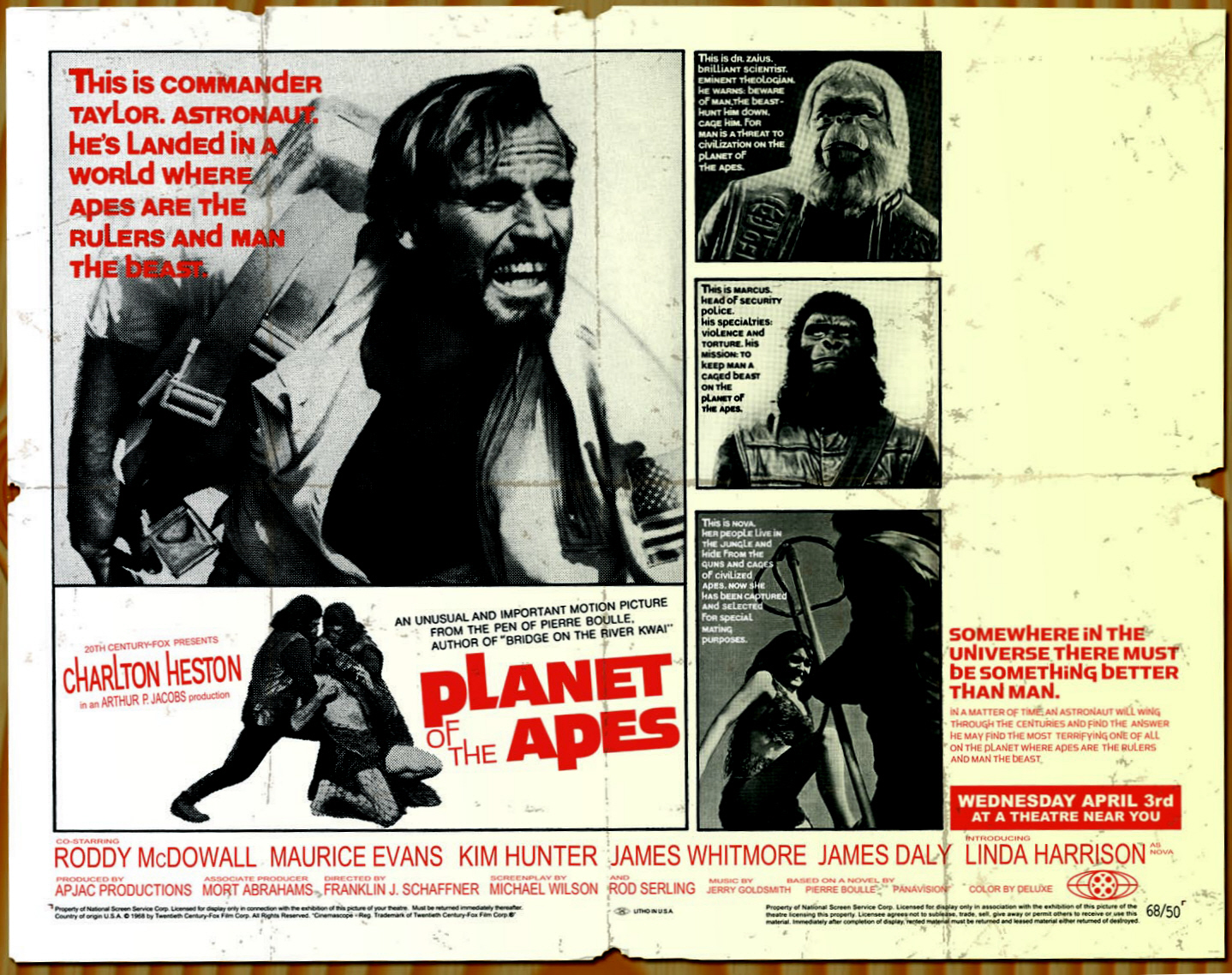 Archives Of The Apes: Planet Of The Apes (1968 ...