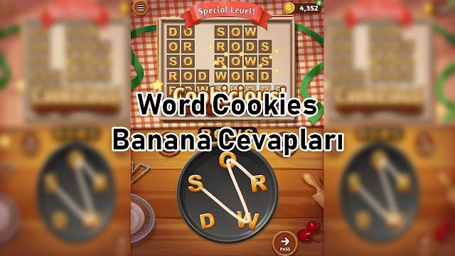 Word Cookies Banana Cevaplari
