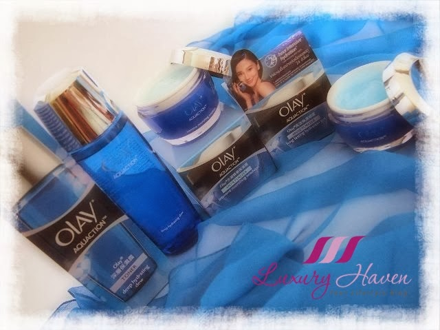 olay aquaction long lasting hydration gel, hydrating dew