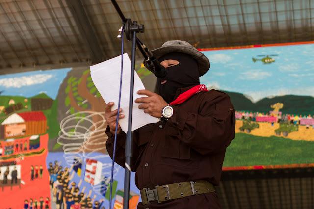Resultado de imagen para Subcomandante Insurgente Moisés, EZLN