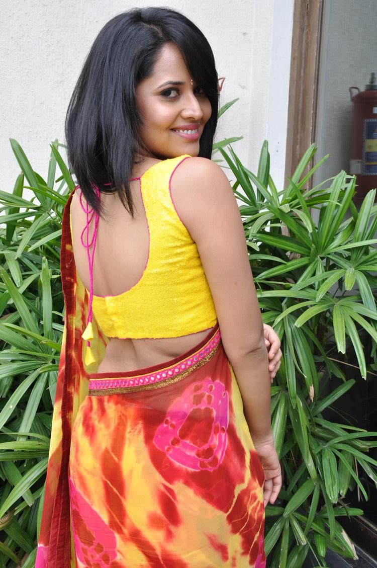 anasuya sare blouse design pics