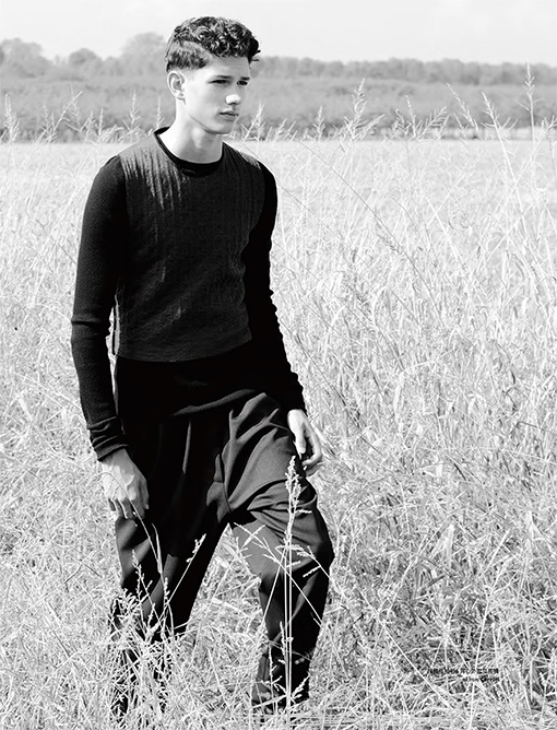 men editorial, country road, lucas santoni, elle men