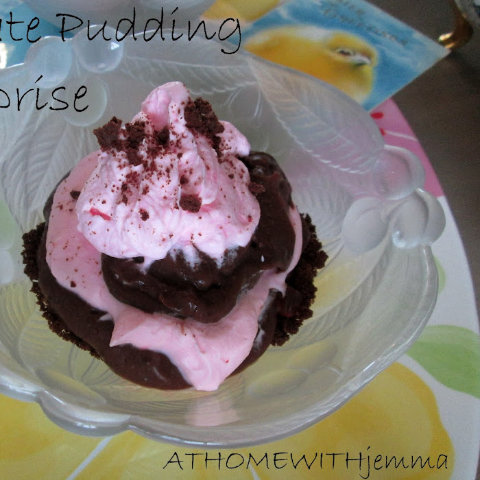Chocolate Pudding Surprise
