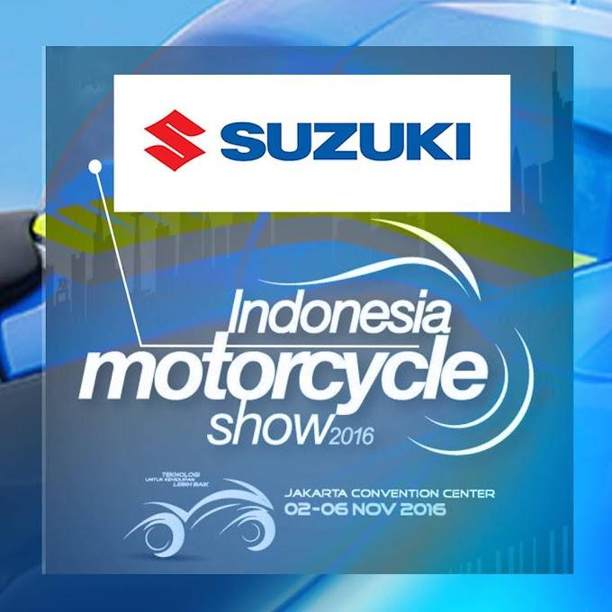 Suzuki Indonesia Pastikan Hadir di Indonesia Motorcycle Show 2016