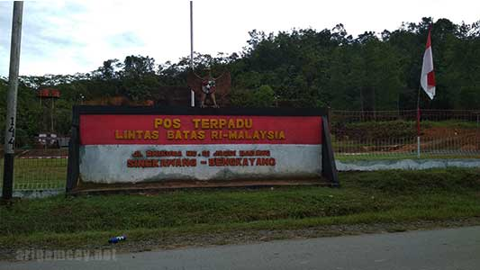 perbatasan jagoi babang indonesia dengan serikin malaysia