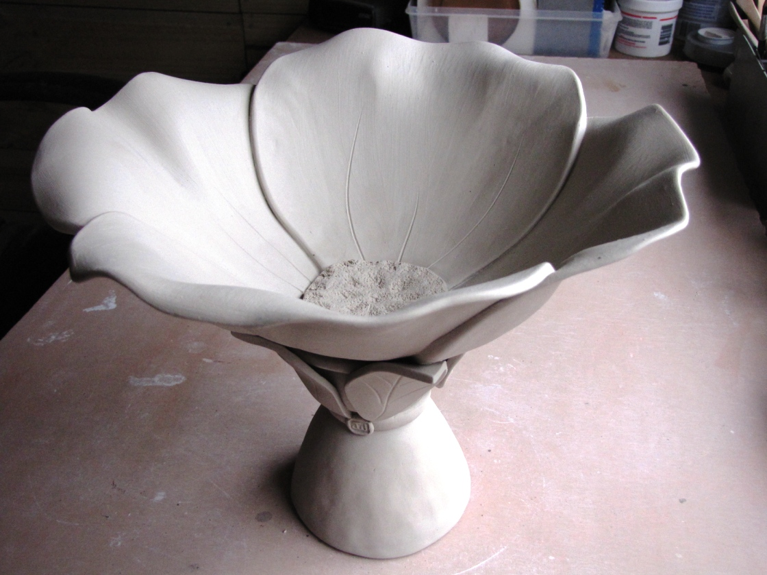 Greatest Jan Wallace Pottery: Flowers in our Garden RX42