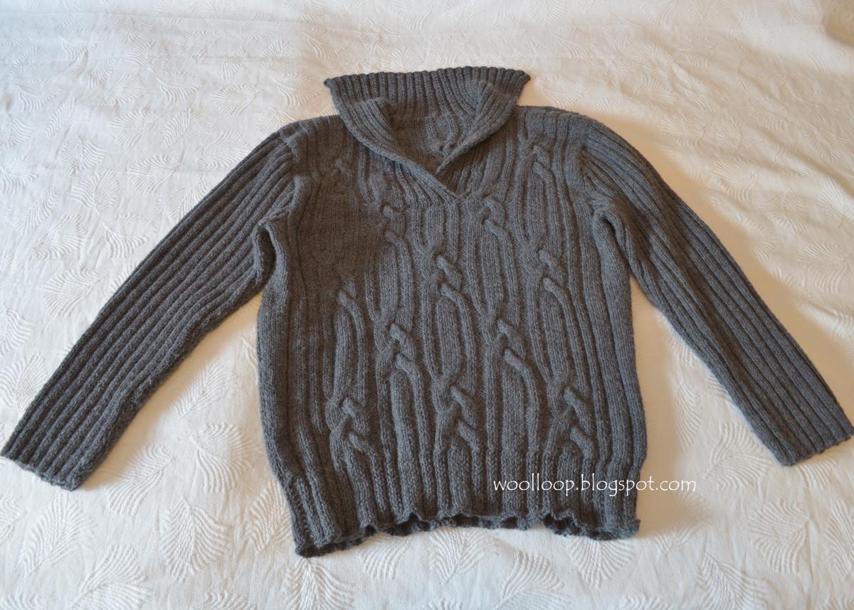 Ogromny Męski sweter z Limy KD55