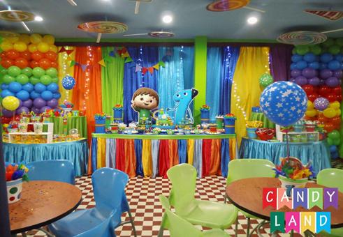 D nde hacer fiestas infantiles en lima candy land eventos - Fiesta infantil en casa ...