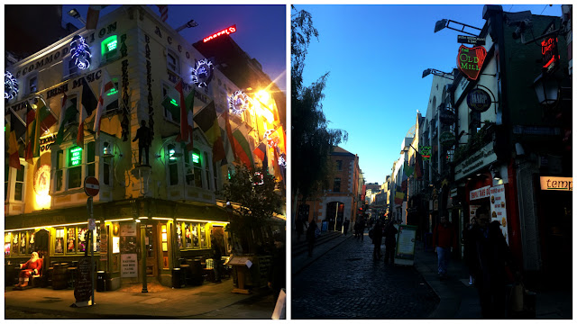 36 Hours in Dublin at night