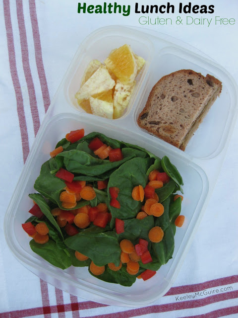 Gluten Free & Allergy Friendly: Lunch Made Easy: Healthy
