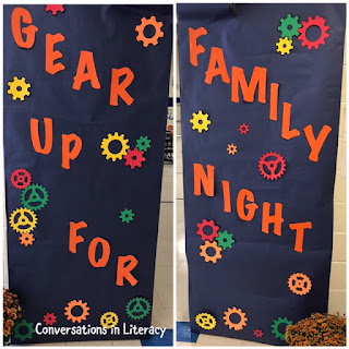 STEM and Family Night Ideas- Gear Up!
