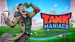Game lái xe tăng bắn nhau siêu nhộn Tank Maniacs mới mở cửa thử nghiệm, nhanh tay chơi thử thôi