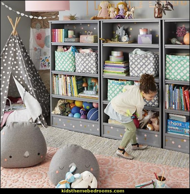 girls playrooms  playrooms alphabet numbers decorating ideas - educational fun learning letters & numbers decor - abc 123 theme bedroom ideas - Alphabet room decor - Numbers room decor - Creative playrooms educational children bedrooms - Alphabet Nursery - Alphabet Wall Letters - primary color bedroom ideas - boys costumes - girls costumes pretend play - fun playroom furniture