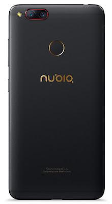 Nubia Z17 with dual camera, fingureprint