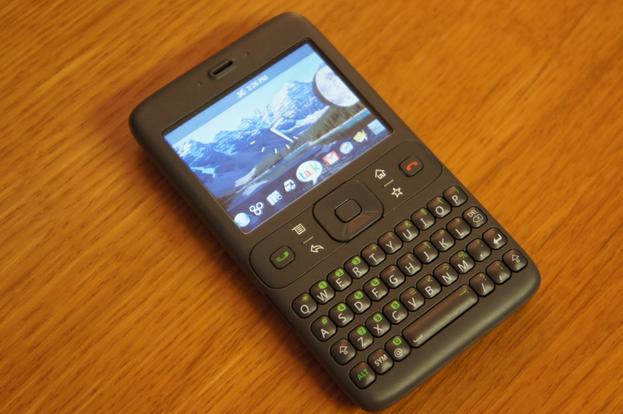 It used to be the phone that Google developed 10 years ago but never saw the light of day