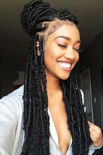 36 Gorgeous Crochet Lemonade Braids Hairstyles Ponytails To Wear