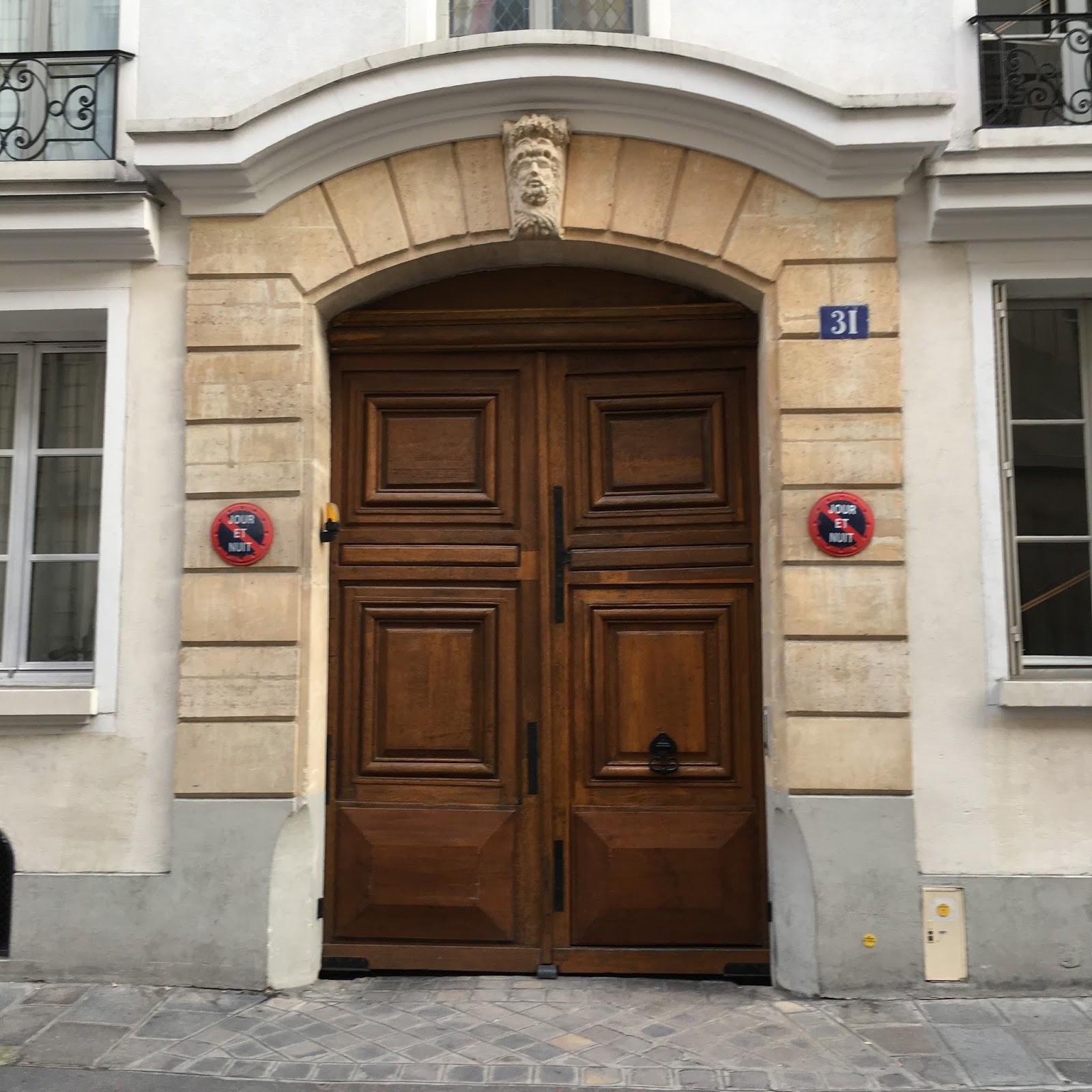 the rue saint guillaume facade of the maison de verre