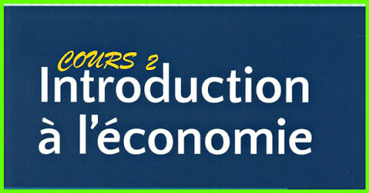 Top 4 Cours de l'introduction à l'économie S1 2017