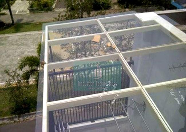 Kanopi Kaca Teras Balkon