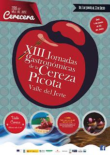 XIII Jornadas Gastronómicas de la Cereza Picota. Valle del Jerte