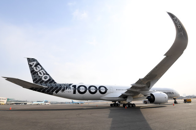 Aluminium-based body of A350-1000 (Airbus)