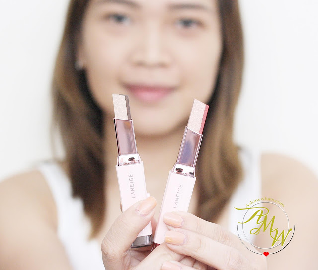 a photo of Laneige Two Tone Shadow Bars_askmewhats