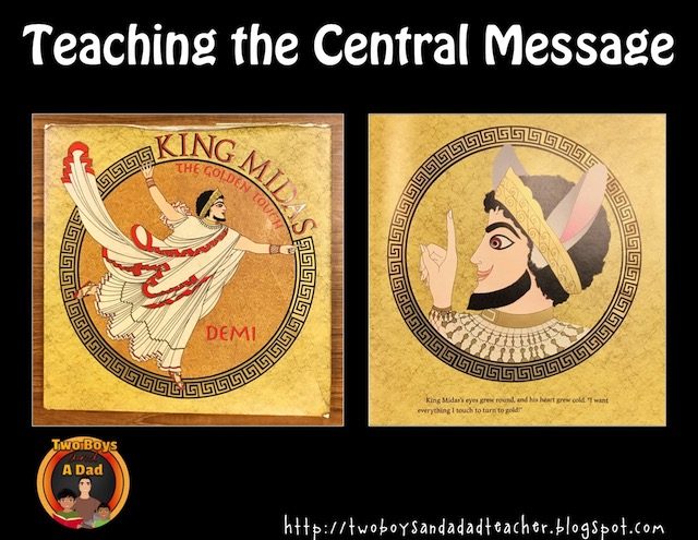 central message of Greek myths