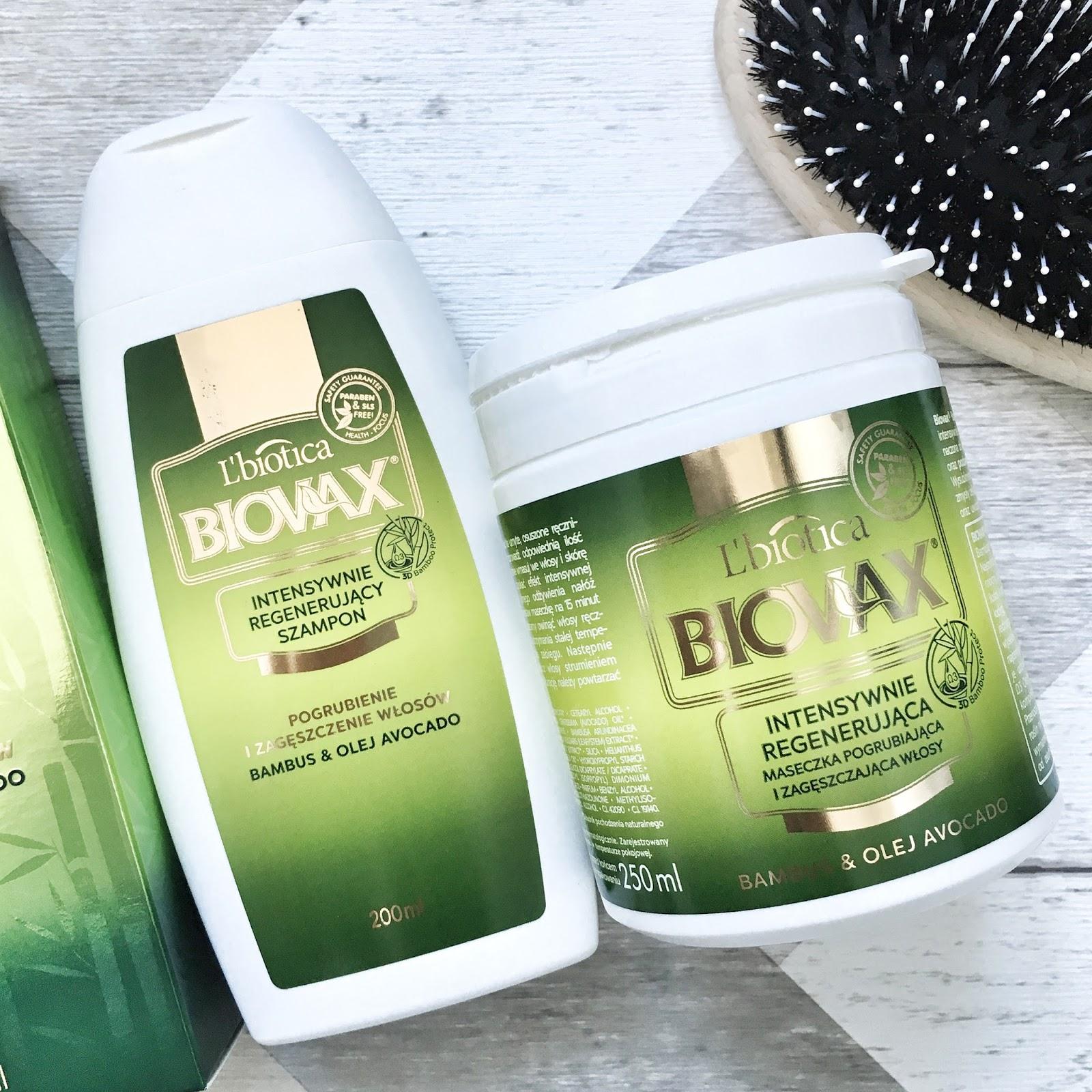 Biovax bambus&olej avocado