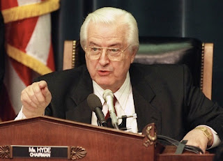 The late Congressman Henry Hyde