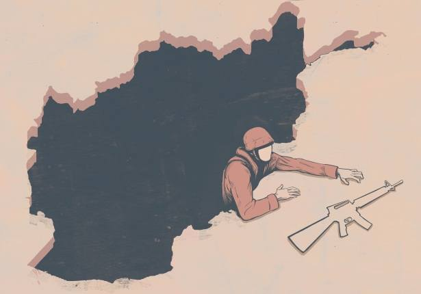 The Absurdities of Life in the 21st Century Captured in Powerful Illustrations - The Hard Way Out of Afganistan