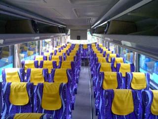 sewa bus pariwisata depok terbaru