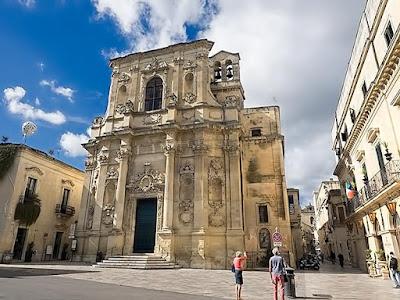 Lugares turísticos de Lecce, Italia