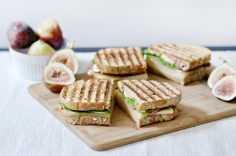 Fig, Prosciutto, and Gruyère Panini + wearFIGS Giveaway! | Obsessive Cooking Disorder