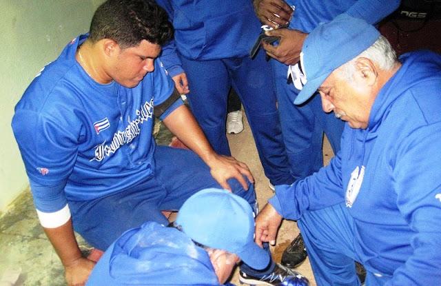 En el caso de Jorge Luís Barcelán, uno de los 8 lesionados entre los Azules, sufrió una contractura muscular en el gemelo de la pierna derecha.