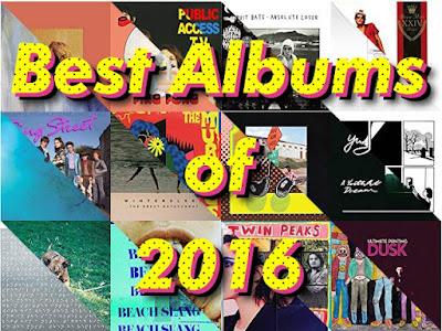 My Best Albums of 2016 ~2016年洋楽ベスト・アルバム25