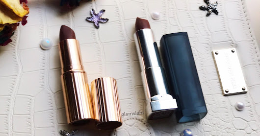DUPE ALERT: Maybelline 988 Brown Sugar VS. Charlotte Tilbury Birkin Brown
