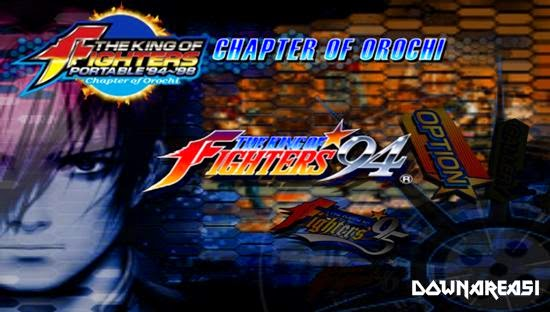 King of Fighters 94 - 98 Chapter of Orochi PSP Game