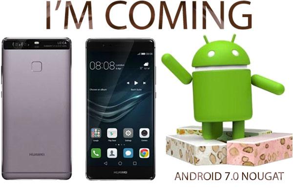 Android 7.0 Nougat Siap Dipasangkan pada Smartphone Huawei P9