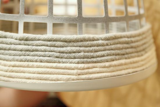iheart organizing diy rope basket. Black Bedroom Furniture Sets. Home Design Ideas