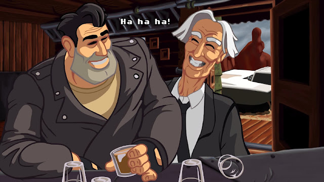 Screenshot of Full Throttle Remastered