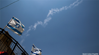 Israel ativou sistema antimísseis contra foguetes sírios