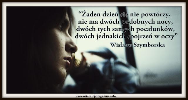 Ostatnie Pożegnanie Wiersz Na Pogrzeb Wisława Szymborska