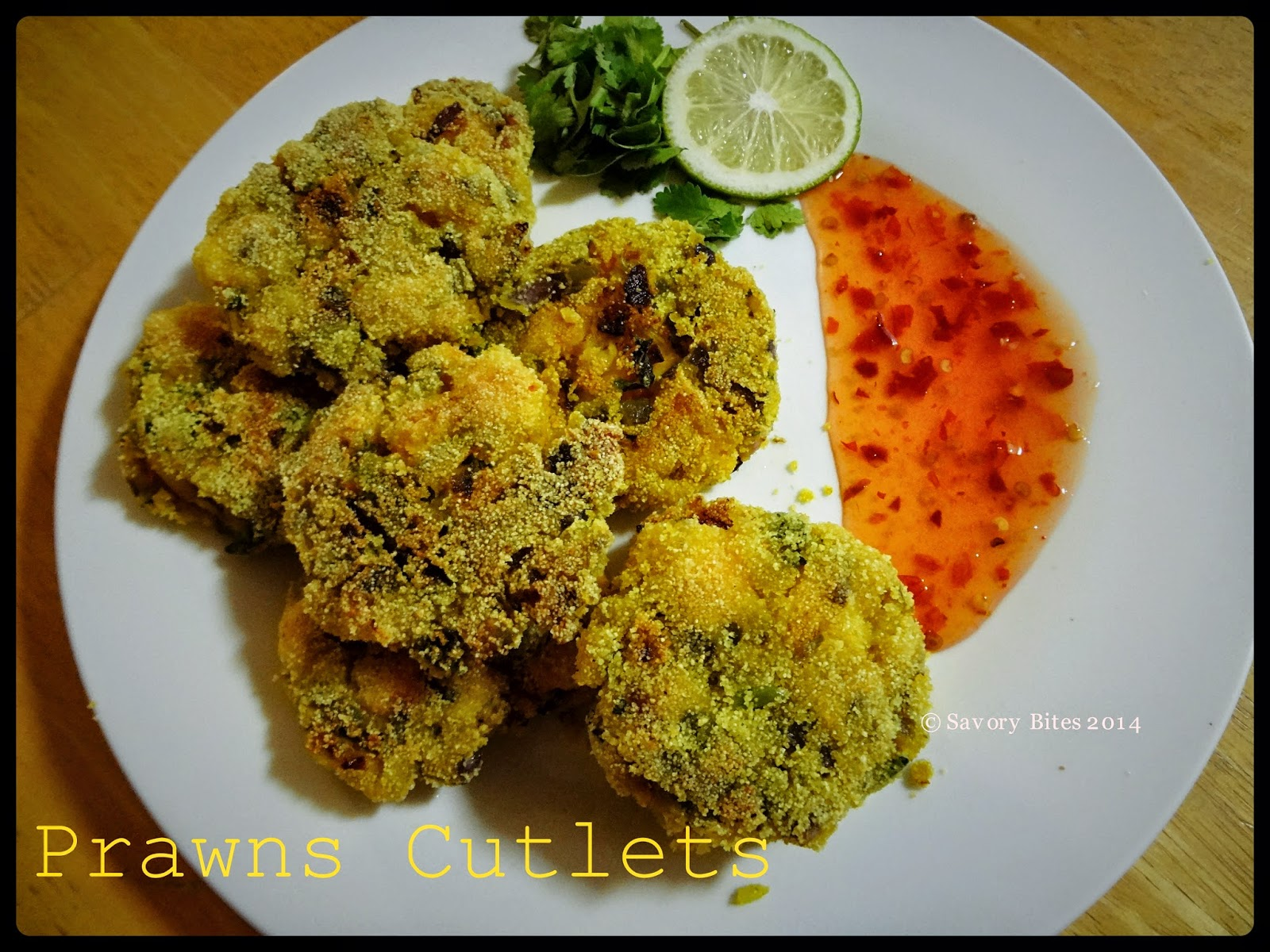 Snacks Prawns Cutlets