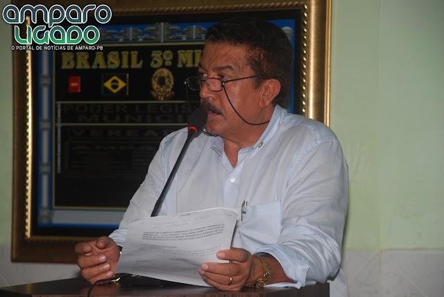 Vereadores Amparenses aprovaram por unanimidade as Contas do Ex-prefeito Dr João Luiz referente a 2012
