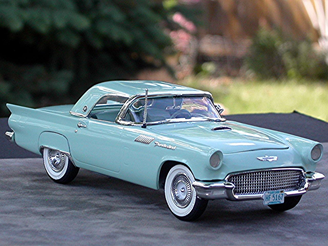 How Old Is A Classic Car  1957 Thunderbird