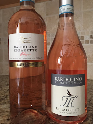 Bardolino Chiaretto Classico wines from Lake Garda