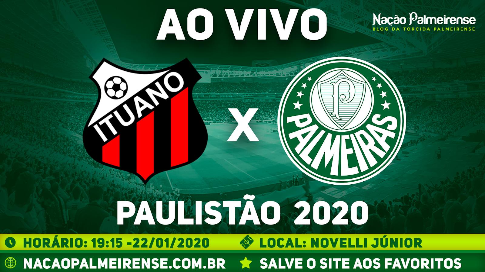 Assistir Ituano x Palmeiras Ao Vivo