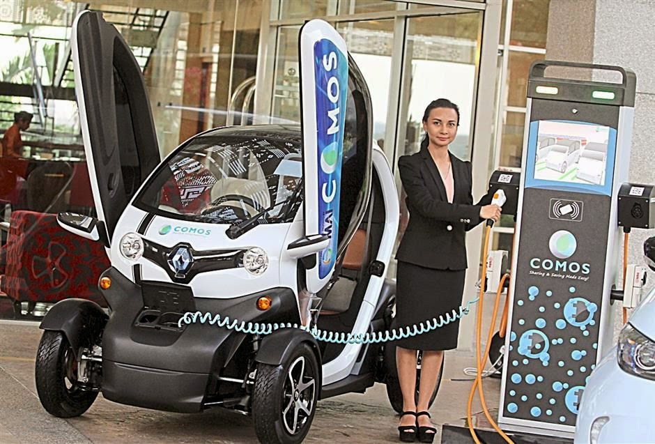 COMOS - The First Electric Vehicle in Malaysia!