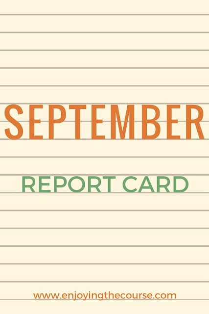 September Report Card